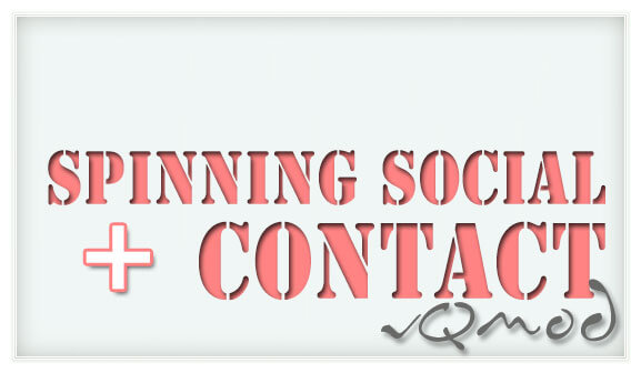 Spinning Social with Contact